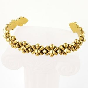 J. Crew Bracelet Open Bangle Bracelet Gold Tone